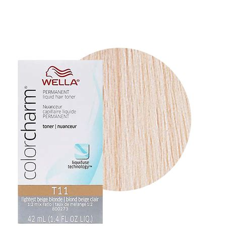 wella color charm toners are ideal to create