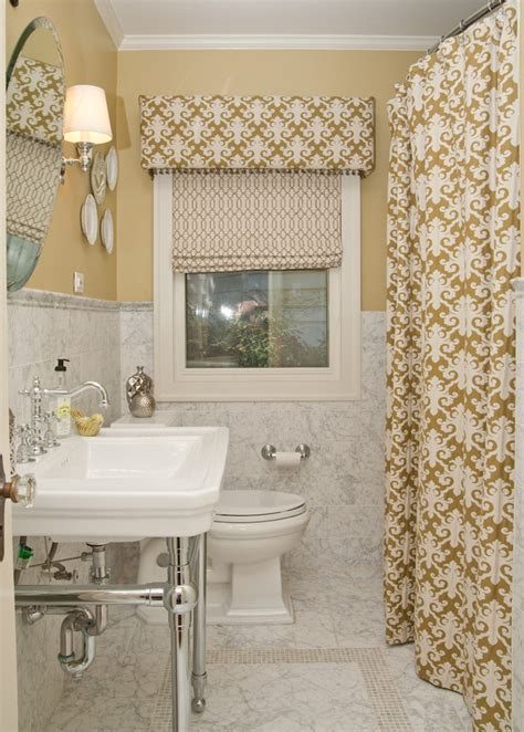 bathroom curtain ideas 8 ideas to makeover your bathroom for fall