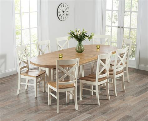 buy the chelsea oak extending dining table with