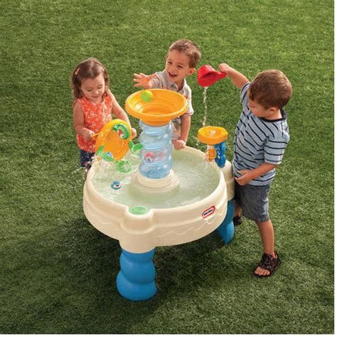 Water Table For Walmart by Tikes Spiralin Seas Waterpark Drop Bay Water