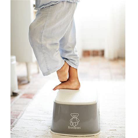 Gray Stool Toddler by Baby Bjorn Step Stool In Gray Baby N Toddler