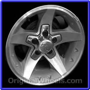 oem 2005 chevrolet mini blazer rims used factory wheels