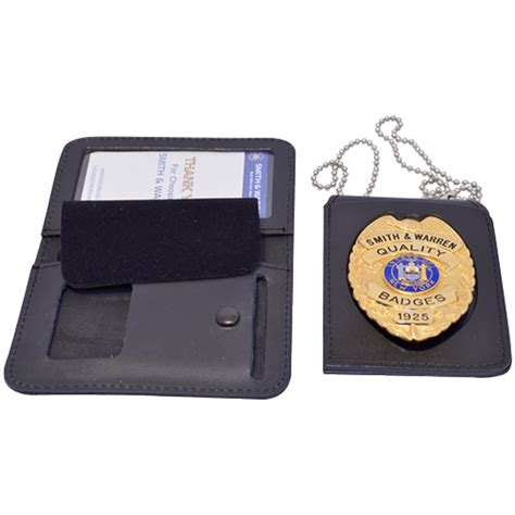 Casing Id Card Multi Fungtion smith warren duty leather multi function single id badge