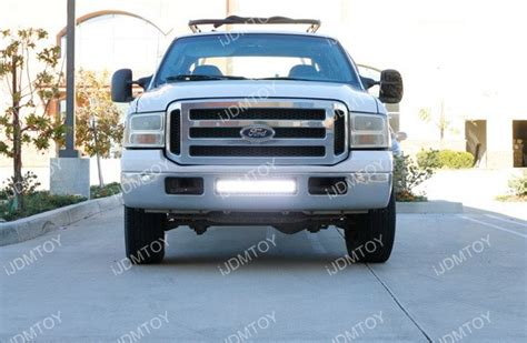 ford f250 led light bar 120w high power led light bar for 1999 2007 ford f 250 f250