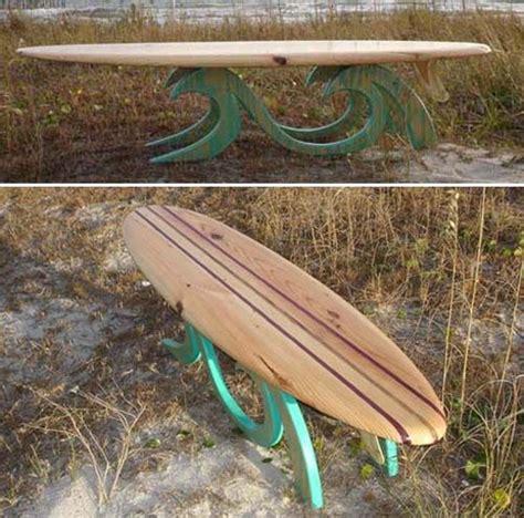 surfboard bench surfboard table surf board table sofa table beach house