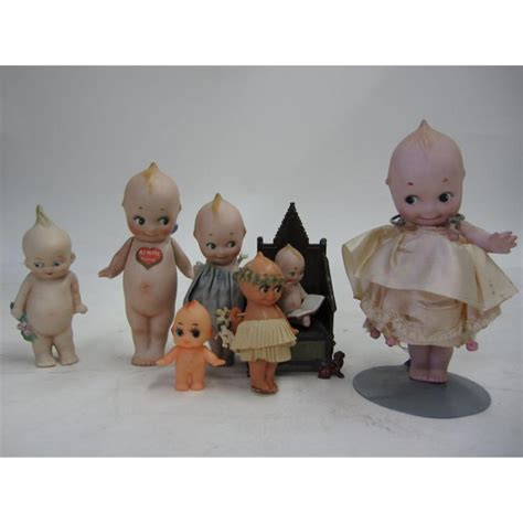 kewpie dolls for sale set of 7 antique kewpie dolls