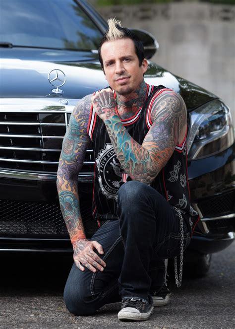 celebrity drive  finger death punch drummer jeremy spencer motor trend