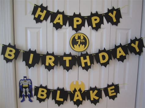printable batman happy birthday banner batman birthday banner personalized with name