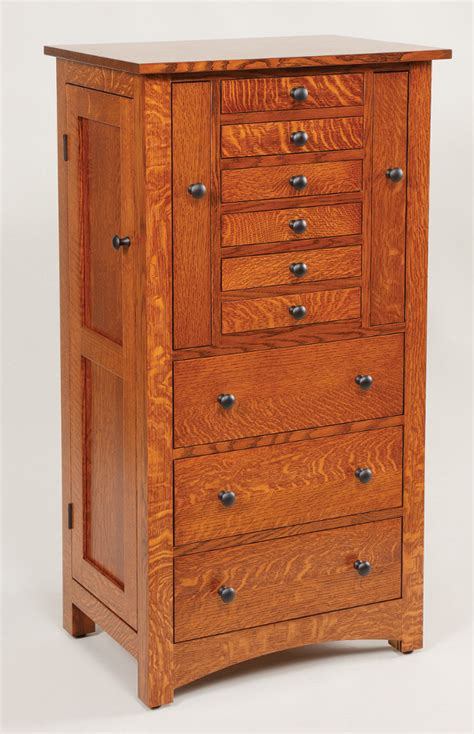 Wood Jewelry Armoire by Amish Avenue Solid Wood Amish Furniture Free Delivery