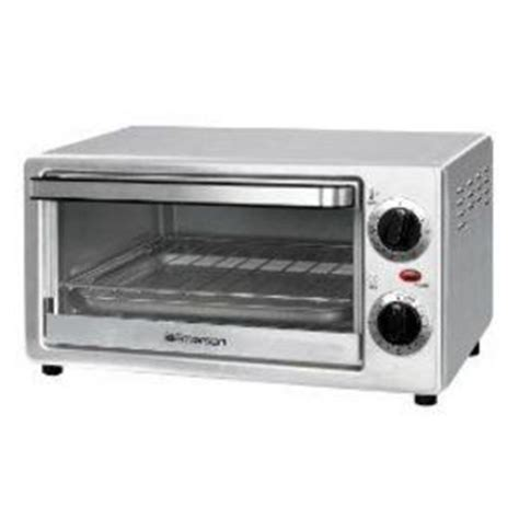 Stainless Steel Toaster Oven Reviews emerson stainless steel toaster oven tor49 reviews