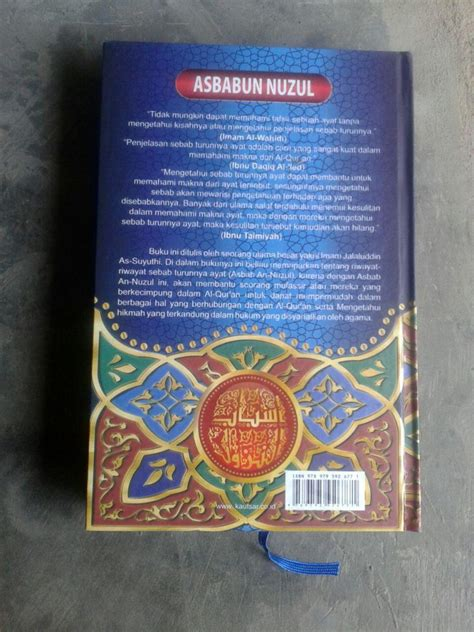 Buku Iqro Edisi Cover buku asbabun nuzul sebab sebab turunnya ayat al qur an