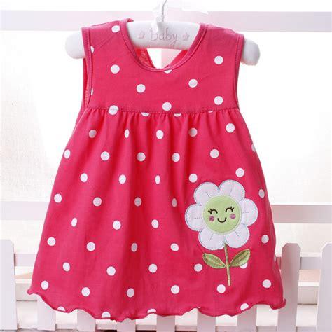 Dress Babycute Coksu 2016 new summer baby 100 cotton newborn infant baby princess casual dress 0 18 months