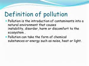 Landscape Pollution Definition Environmental Pollution