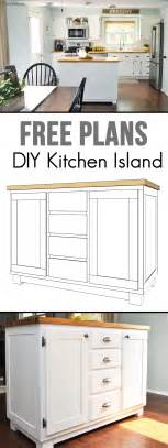 Kitchen Island Building Plans diy kitchen island cherished bliss on kitchen islands building plans