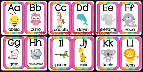 imagenes educativas abecedario abecedario animales formato tarjetas imprimibles
