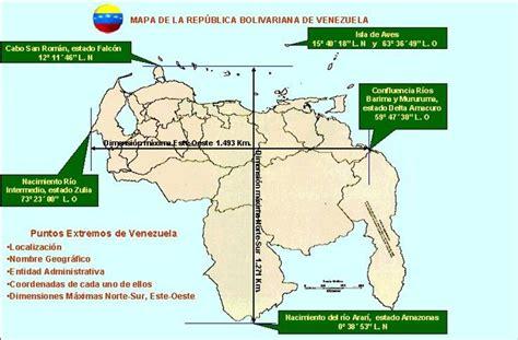 imagenes situacion de venezuela mapa de venezuela con sus coordenadas imagui