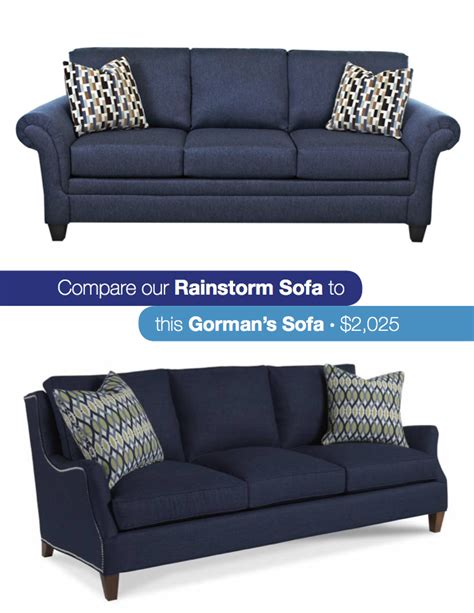 navy blue couches look for less navy blue sofa gardner white blog