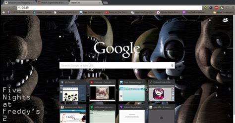 google wallpaper fnaf fnaf 2 google chrome theme by loneiiness on deviantart