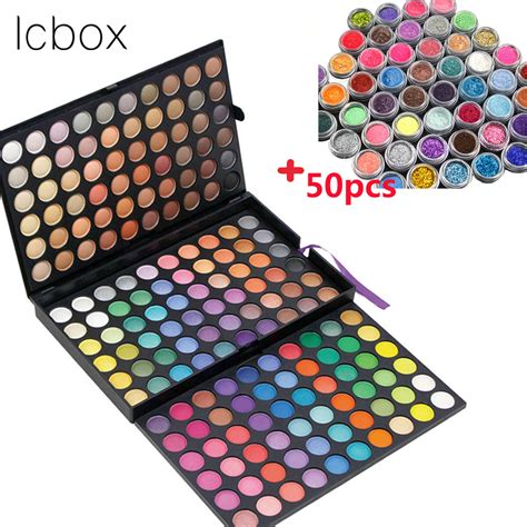 8 Colourful Makeup Palettes by Lcbox Brand 180 Colors Eyeshadow Palette Makeup Glitter