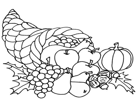 cornucopia coloring pages cornucopia coloring page cpaaffiliate info
