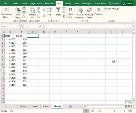 calculate moving average in excel pakaccountants com