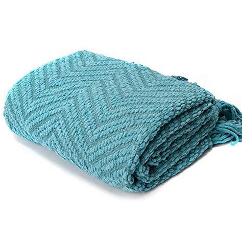 how to knit a zig zag blanket battilo knit zig zag textured woven throw blanket 60 quot x 50
