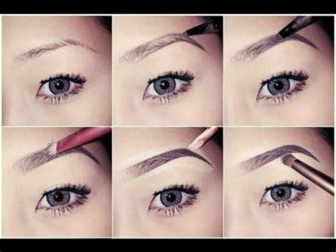 youtube membuat eyeliner sopracciglia perfette forme e strumenti trashic