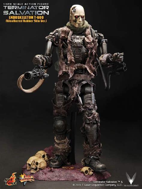 Toys Terminator Salvation T 600 Concept Version toys mms104 terminator salvation endoskeleton t 600 weathered rubber skin ver