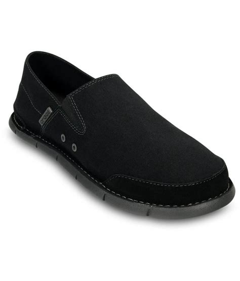 crocs loafers crocs black relaxed fit loafers price in india buy crocs