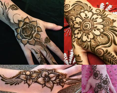 flower design mehndi 2017 top 50 simple mehndi designs for hands in different