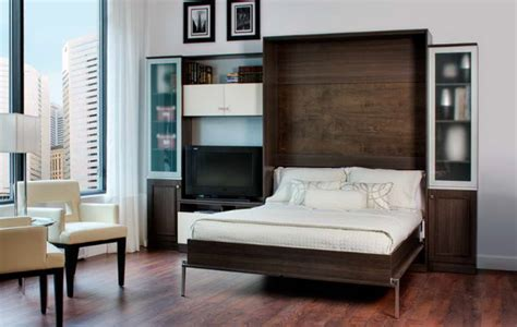 10 cool murphy beds for decorating smaller rooms