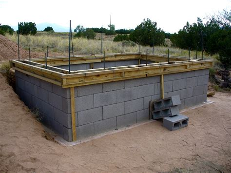 building a concrete block house alt build blog building a well house 2 dry stack
