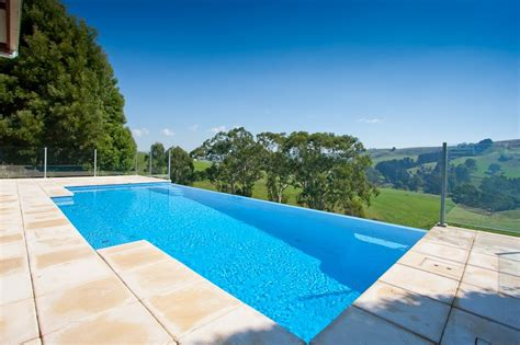 Swimming Pool Designs by Dreaming Of An Inifinity Pool Compass Pools Melbourne