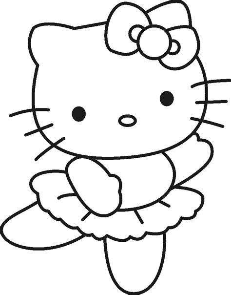 coloring pictures online to print free printable hello kitty coloring pages for kids free