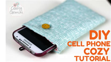 For All Phone Bahan Softclear 1 how to make a quilted cell phone cozy tutorial