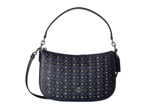 Coach Flowery coach floral rivets chelsea crossbody zappos free shipping both ways