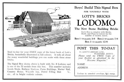 Signal Cabin (Lotts Lodomo)   The Brighton Toy and Model Index