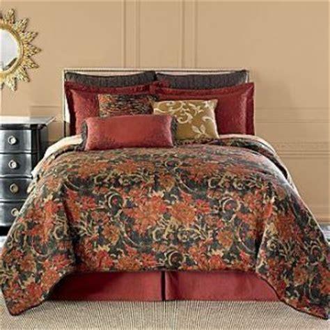 Chris Brown Bed Set Chris Madden Wynscape Comforter Set New Blue Brown Damask On Popscreen