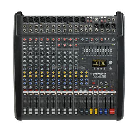 Mixer Power Mixer dynacord powermate 1000 3 powermixer 2x 1000 w 4 ohm