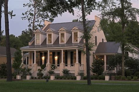 Southern Living Coastal House Plans Eastover Cottage Traditional Exterior Charleston By Watermark Coastal Homes Llc