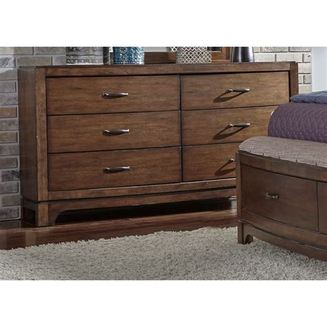 liberty furniture avalon dresser liberty furniture avalon iii 6 drawer dresser with tapered