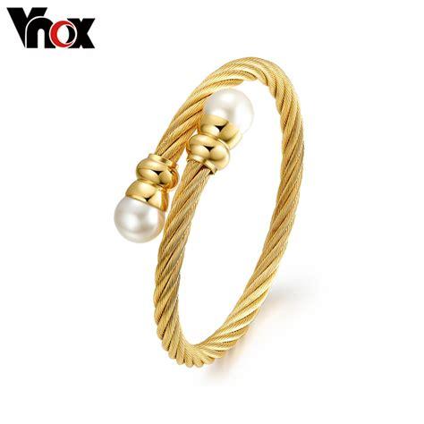 Aliexpress.com : Buy Vnox Fashion Imitation pearl
