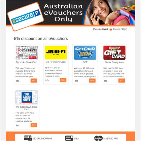 Jb Hifi Gift Card Discount - discounted gift cards 5 off jb hi fi the good guys dymocks bcf sca via