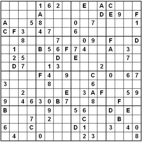 super sudoku 16x16 a giant super sudoku 16 x 16 pictures to pin on pinterest pinsdaddy