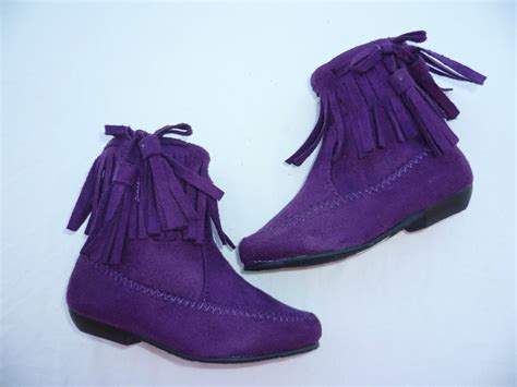 8 Cutest Boots For by Purple Toddler Boots Shoes Size 4 8 Ebay