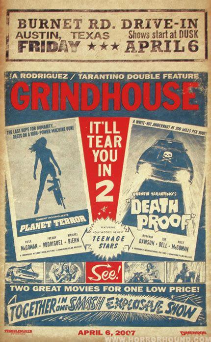 grind house 28 images grindhouse 2007 poster