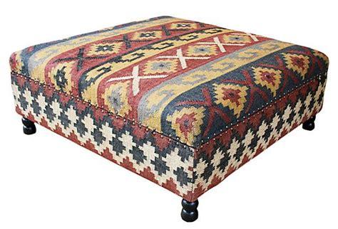 Kilim Storage Ottoman Arlo Kilim Upholstered Storage Ottoman Furniture