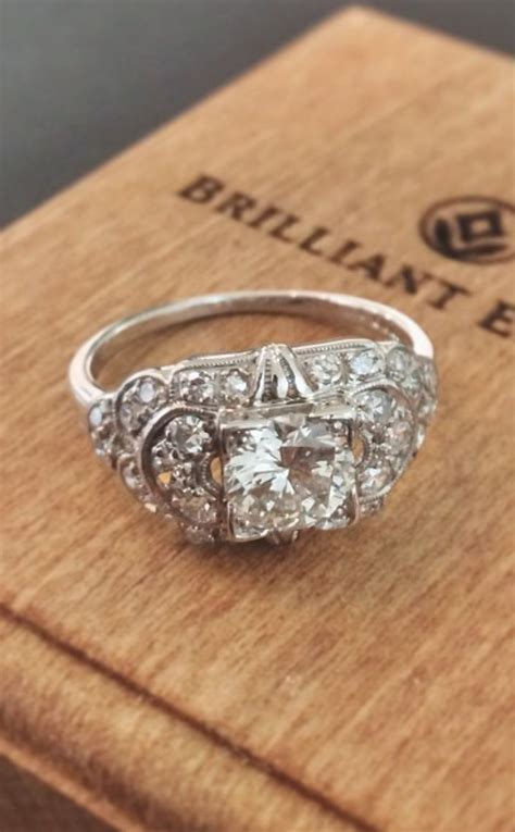 Best 25  Antique diamond rings ideas on Pinterest