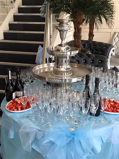 champagne fountain hire ozzy james parties