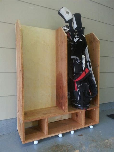 Golf Club Storage Garage by Golf Club Storage Diy Golf Clubs Golf